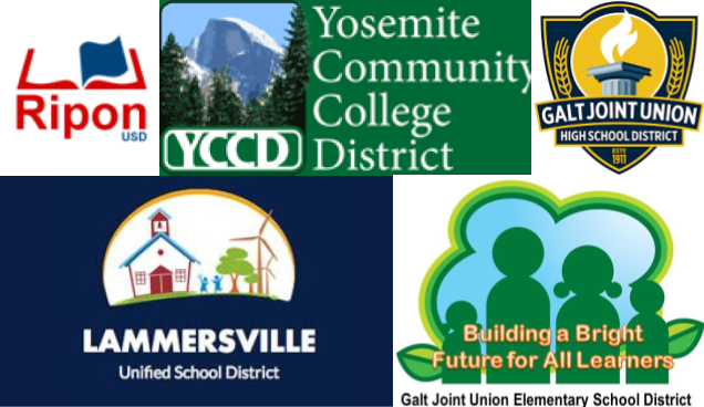 Ripon, Yosemite College, Lammersville, and Galt Union Districts all have contested open seats on their boards of education in November.