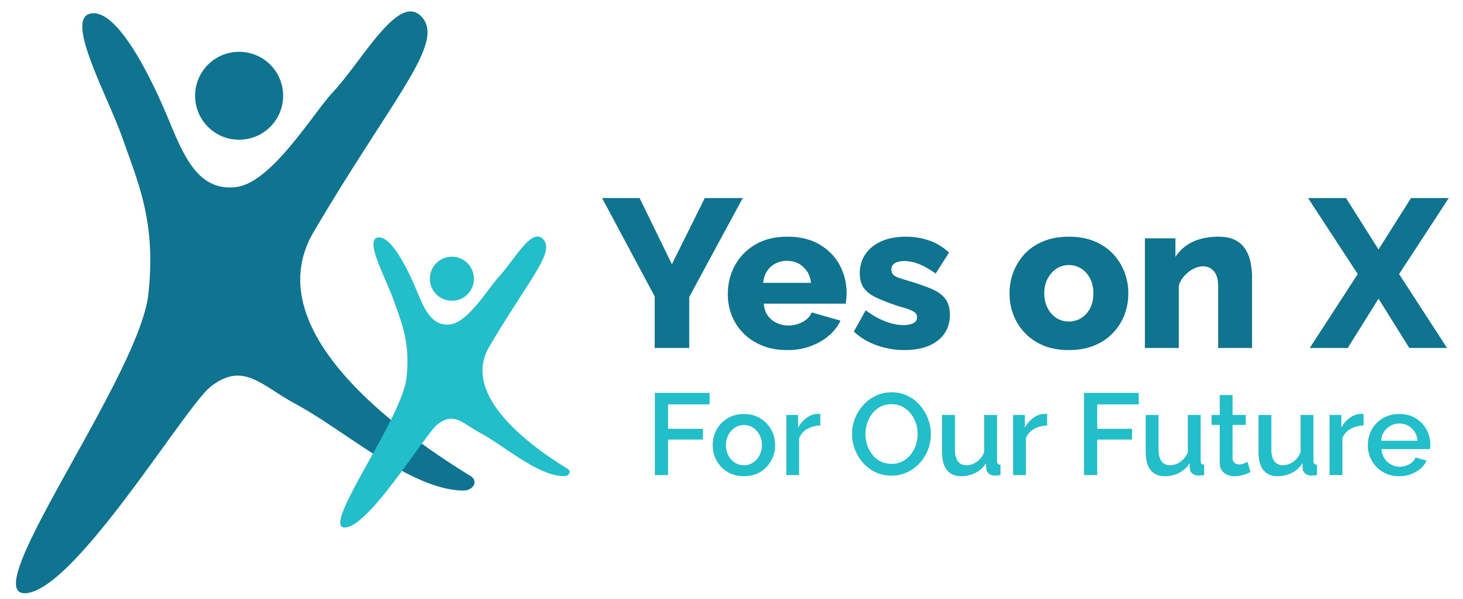 Logo for Yes on X